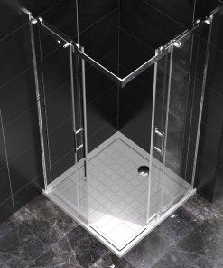 Quadratische Duschkabine VENTA